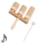 Agogo Cocuswood 3-pcs